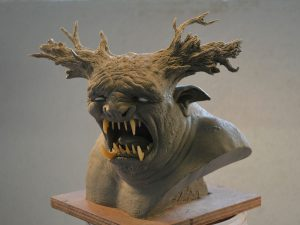 Trollhunter 2 design maquette for Richard Raaphorst