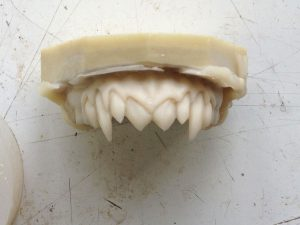 Vampire teeth for Unreal