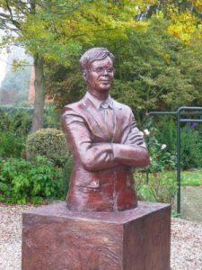 Balkenende statue for Unreal