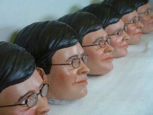 Balkenende masks for Unreal