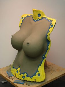 Big Breast prosthetic for Twilight Creations