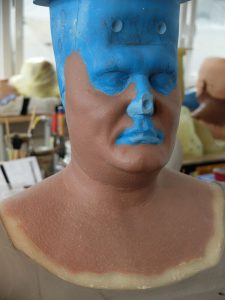 Fat make-up sculpt for Twilight Creations