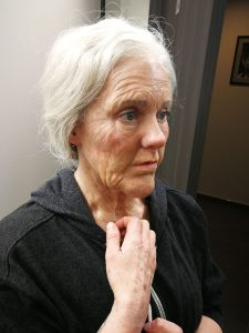 Old age test make-up for Story of my Life Poland for Millennium FX