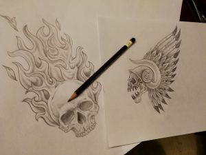 Tattoo design stage